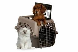Petmate 2 Door Pet Dog Cat Carrier Kennel 24 Inch Portable C