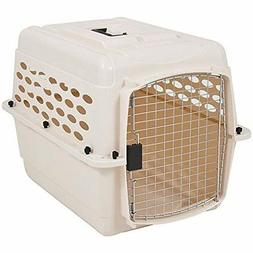 Petmate 21947 Vari 28-Inch Pets Kennel, 25-30-Pound, Bleache