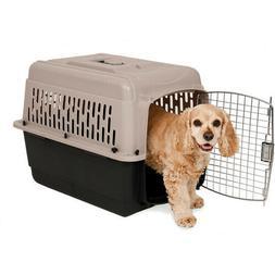 Petmate 21948 Vari Kennel Pet Carrier Bleached Linen, 30-50