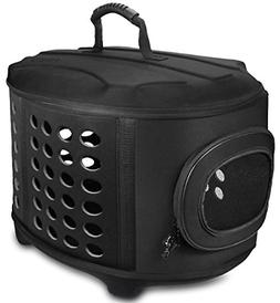 FRiEQ 23-Inch Large Hard Cover Pet Carrier - Pet Travel Kenn