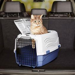 Hard Sided Pet Dog Cat Carrier 23 Inch Two Door Top Load Ken