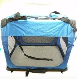 """GoPetClub 28"""" Inch Soft Portable Foldable Travel Pet Carrier"""