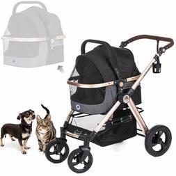 3-in-1 Luxury Dog/Cat/Pet Stroller  with De