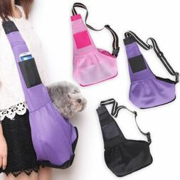 3 Sizes S/M/L Canvas Sling Pet Dog Puppy Cat Carrier Tote Sl
