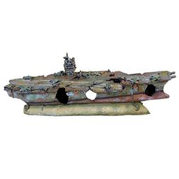 Underwater Treasures 65246 Royal Aircraft Carrier Aquarium O