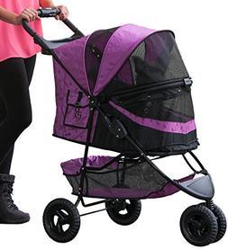 Pet Gear No-Zip Special Edition Pet Stroller, Zipperless Ent