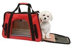 Coleman Adjustable Shoulder Strap Pet Carrier Open Dimension