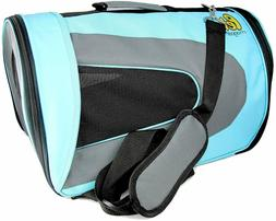 Pet Magasin Airline Approved Cat Carrier - Water Resistant,