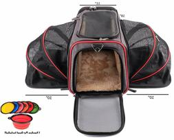 Airline Approved Expandable Pet Carrier by Pet - Two Side Ex