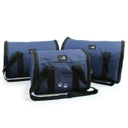 Airline Approved Pet Carrier For S -M- L Dogs Cats Soft Side