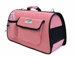 Portable Pet Carrier Airline Approved Travel Dog Tote Bag Ca