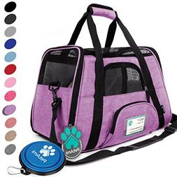 PetAmi Premium Airline Approved Soft-Sided Pet Travel Carrie