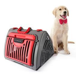 Animal Carrier Travel Puppy Pet Transport Portable Guinea Pi