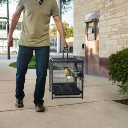 Prevue Pet Products Anodized Aluminum Travel Carrier for Bir