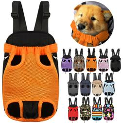 Backpack Carrier for Pet Dog Cat Puppy Travel Double Shoulde