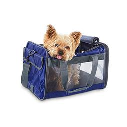 Good2Go Basic Pet Carrier in Navy, 17.75 L x 10.73 W x 10.5