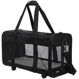 Basics Soft-Sided Pet Travel Carrier Wheels, Large Supplies