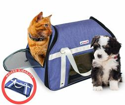 DreamyPup Best Soft Pet Carrier for Small Dogs and Cats  12.