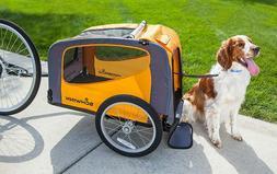 Bicycle Pet  Basket Folding Frame Carrier Back Rascal Bike D