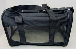 AmazonBasics Black Soft-Sided Pet Carrier - Medium for Dogs