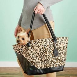 BRAND NEW Pet Gear Pet Carrier/Tote Bag *Jaguar Print** Airl