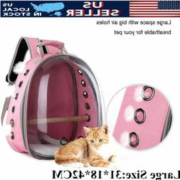 Breathable Cat Pet Parrot Bird Carrier Travel Clear Space Ca