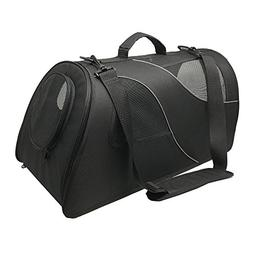 Fuzzy Buddy FB-SS-BL Soft-Sided Pet Carrier for Small Dogs a