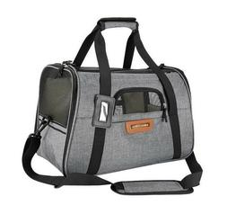 Premium Pet Travel Carrier, Airline Approved, Soft Sided, Co