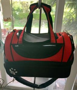 Pet Gear Carrier Bag Travel Small Dog Cat Duffle Red Portabl