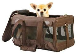 Sherpa Deluxe Carrier Pet Dog Cat Travel Bag Soft Sided Comf