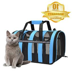 PETDIARY Cat Carrier Portable Pet Carrier-Small Dogs,Puppy,