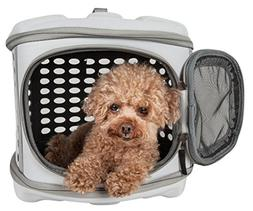 PET LIFE 'Circular Shelled' Perforated Lightweight Collapsib