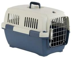 Marchioro Clipper Cayman 2 Pet Carrier, 22.25-inches, Tan/Bl
