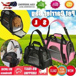 Comfort Pet Dog Nylon Handbag Carrier Travel Carry Bags For