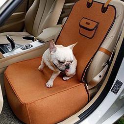 BeesClover Creative Pet Car Seat Cover Puppy Basket Pet Carr