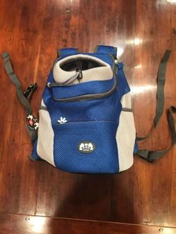 AG Pet Dog Backpack Travel Front Carrier Head Out Tote - Med