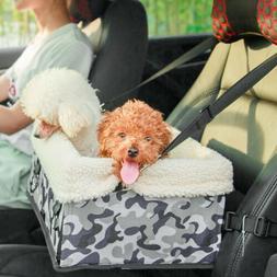 Dog Bag Pet Carrier Cat Car Seat Travel Handbag Kennel Crate