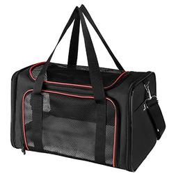 Travel Dog Pet Cat Airline Approved Carrier Soft Sided Colla