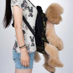 Dog Cat Pet Carrier Backpack Travel Bag Front for dogs Bike