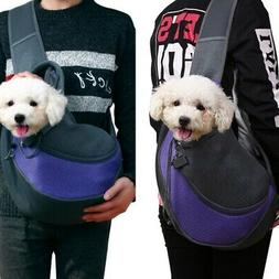 Pet Dog Cat Outdoor Carrier Backpack Bag Front for dogs Bike