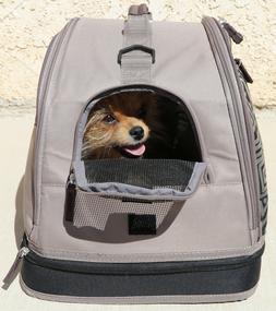 DOG PET CARRIER PURSE Airline Approved Pet Flys Punky Skully