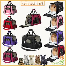 Dog Pet / Small Cat Carrier Soft Sided Comfort Bag Travel Ca