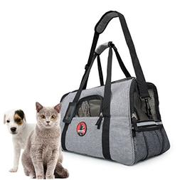 Easy Pet Carrier Airline Approved Under Seat - Anxiety Reduc