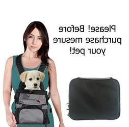 Eugenes Front Pet Carrier, Dog Backpack Bag, Free Your Hands