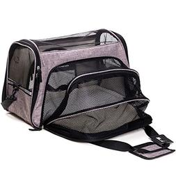 FurryTastic Premium Expandable Airline Approved Pet Carrier