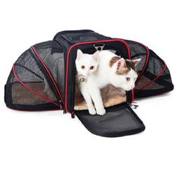 Expandable Cat <font><b>Carrier</b></font> <font><b>Pet</b><