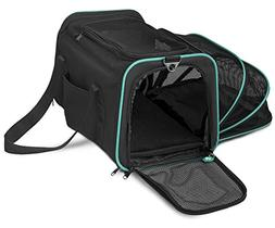 Pawdle Expandable and Foldable Pet Carrier Domestic Airline