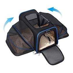 YOUTHINK Expandable Pet Carrier for Dogs and Cats, Soft Side