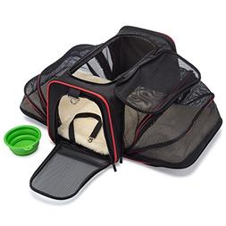mypal Expandable Soft Pet Carrier, Airline Approved Carrier