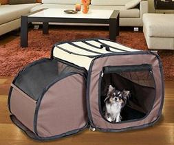 Pet Store Expanding Pet Crate Carrier
